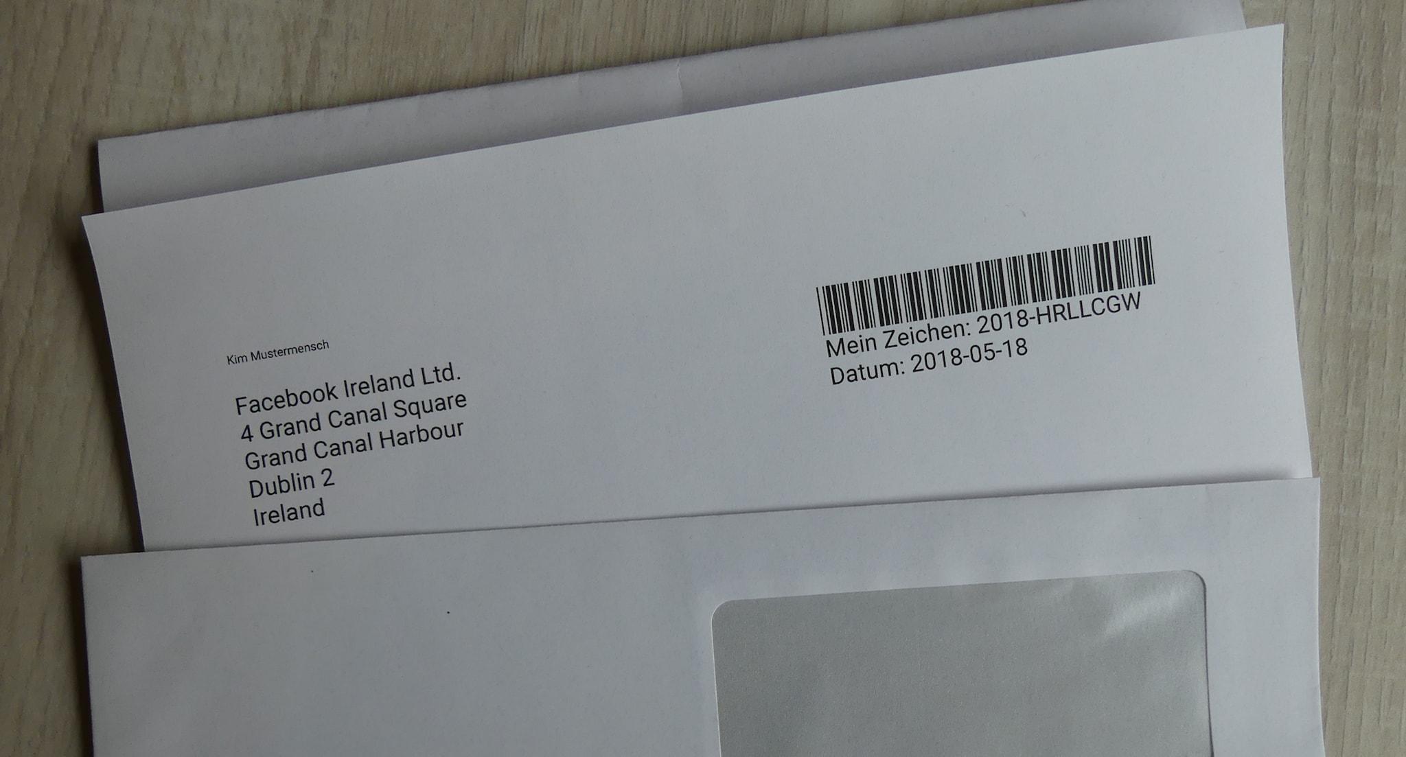 """Musterbrief für Anträge auf Löschung nach Art. 17 DSGVO (""""Recht auf Vergessenwerden"""")"""